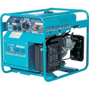溶接機 GAW-135 エンジン溶接機 デンヨー(Denyo) ガソリン溶接機 小型軽量の本格ガソリン溶接機のロングセラー機|takahashihonsha