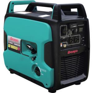 発電機 GE-1800SS-IV 小型発電機 インバーター発電機 デンヨー(Denyo) 小型ガソリン発電機|takahashihonsha