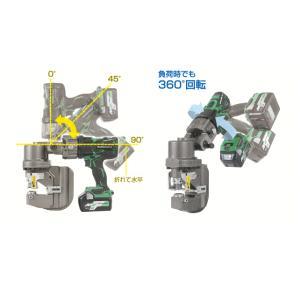 育良精機 36Vコードレスバリアフリーパンチャー ISK-BP20LF  セット品(バッテリー充電器付) ハイブリッド完全複動|takahashihonsha