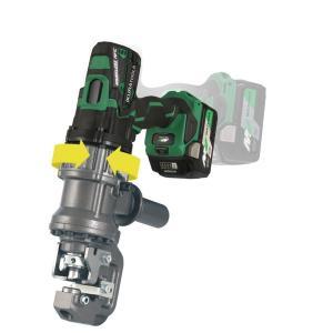 育良精機 36Vコードレスパンチャー ISK-MP15LF  セット品(バッテリー充電器付) ハイブリッド完全複動|takahashihonsha
