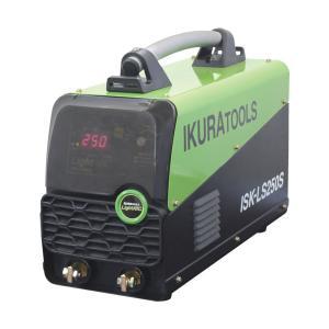 育良精機(イクラ) インバータ制御直流アーク溶接機(電撃防止機能付 ISK-LS250S 【正規販売店】|takahashihonsha