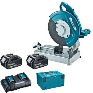 マキタ LW141DZ+A-61226 充電式切断機+パワーソースキット1セット 【製品保証サービス有り】 takahashihonsha