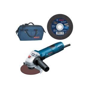 ボッシュ電動工具(BOSCH)  MCD-SET 100mmグラインダー+砥石30枚+バッグ 100V セット品|takahashihonsha