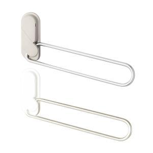 室内用ホスクリーン窓枠付 MDL-W/MDL-LB ホワイト/ライトブロンズ 物干し金物 (左右2本1組)|takahashihonsha