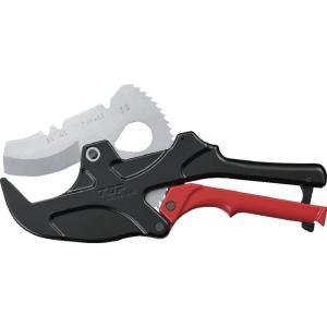 TOP工業(トップ) エンビパイプカッター TVP-63 大径タイプ|takahashihonsha