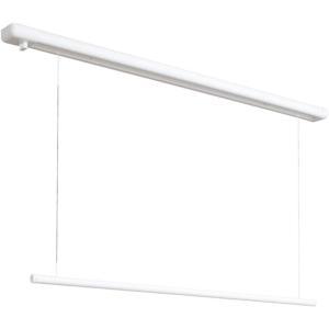川口技研 室内用ホスクリーン URM-S-W  全長1340mm  昇降式操作棒タイプ(面付型)室内物干|takahashihonsha