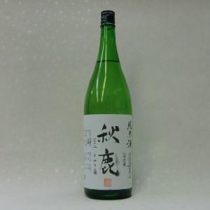 秋鹿 純米 無濾過生原酒 720ml|takama