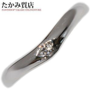 ミキモト Pt950 ダイヤ0.02ct 指輪(リング) 8号|takami710