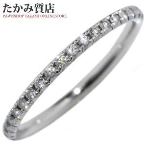 ティファニー K18WG ダイヤ0.20ct メトロリング 指輪(リング) 6.5号|takami710