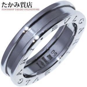 ブルガリ K18WG B.zero1(ビーゼロワン)リング(XS) 指輪(リング)(AN852423) #50(10号) takami710