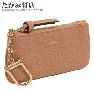 グッチ 小銭入れ兼用キーケース(368879) カーフ(ピンク) takami710