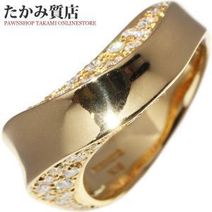ミキモト K18YG ダイヤ0.50ct 指輪(リング) 11号|takami710