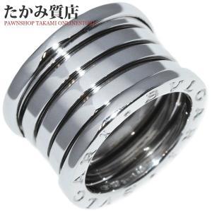 ブルガリ K18WG B.zero1(ビーゼロワン)リング(L) 指輪(リング)(AN191028) #49(8号) takami710