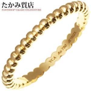 ヴァンクリーフ&アーペル K18YG ペルレリング(スモールモデル) 指輪(リング) 12.5号 takami710