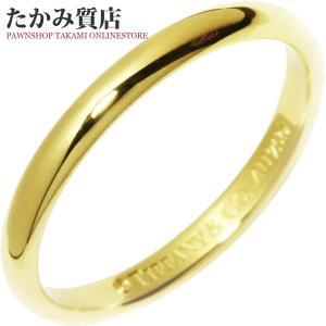 ティファニー K18YG ルシダウェディングバンドリング(幅2ミリ) 指輪(リング) 7.5号|takami710