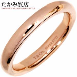 ティファニー K18PG エルサ・ペレッティスタッキング バンドリング 指輪(リング) 9号|takami710