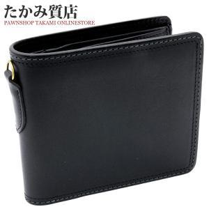 CORBO(コルボ) 二つ折り財布 小銭入れあり カーフ(黒)|takami710