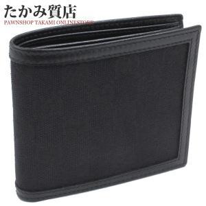 グッチ 二つ折り財布 小銭入れあり(237359) GGキャンバス(黒) takami710