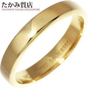 ヴァンクリーフ&アーペル K18YG トゥージュール マリッジリング 指輪(リング) メンズリング #58(17.5号) takami710