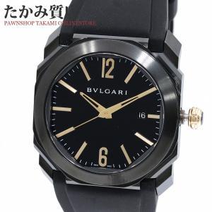 ブルガリ オクト ウルトラネロ(BGO41S) メンズ|takami710