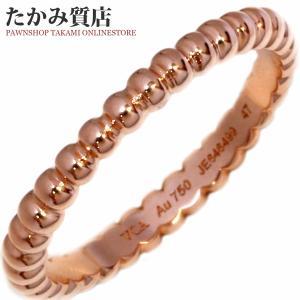ヴァンクリーフ&アーペル K18PG ペルレリング(スモールモデル) 指輪(リング)(VCARN33000) #47(7号) takami710
