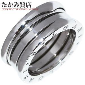 ブルガリ K18WG B.zero1(ビーゼロワン)リング(S) 指輪(リング)(AN191024) #48(7号) takami710