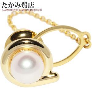 ミキモト K18YG パール(真珠)7.2ミリ ネクタイピン タイピン タイタック|takami710