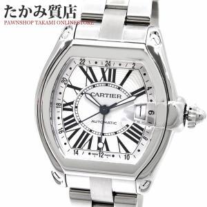 カルティエ ロードスターXL GMT(W62032X6) メンズ|takami710