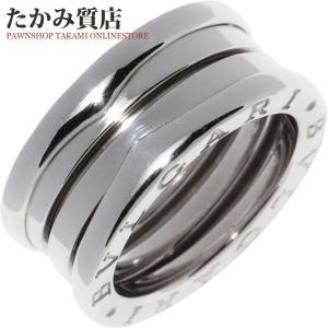 ブルガリ K18WG B.zero1(ビーゼロワン)リング(S) 指輪(リング)(AN191024) #49(8.5号) takami710