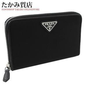 プラダ ラウンドファスナー財布 小銭入れあり テスート(1ML157) ナイロン(黒)|takami710