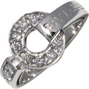 ブルガリ K18WG ダイヤ/パヴェダイヤ ブルガリブルガリリング AN854619 指輪(リング)|takami710
