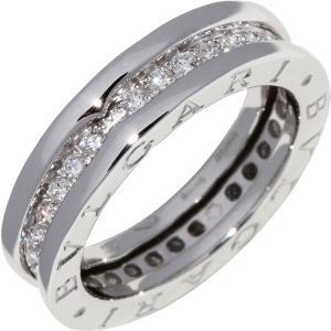 ブルガリ K18WG ダイヤ0.45ct B.zero1 ビーゼロワンリング XS フルダイヤ 1バンド 329342 指輪|takami710
