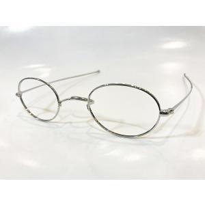 メタル 一山丸メガネ  42サイズ|takamoli