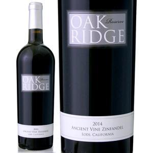 リザーブ・エインシェント・ヴァイン・ジンファンデル・ロダイ[2014]オークリッジ(赤ワイン)|takamura