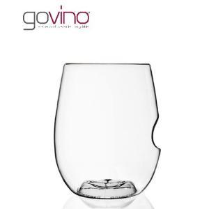 govino (ゴヴィノ) 白ワイングラス 375ml (1〜2脚迄、ワイン(=750ml)11本と同梱可) (ラッピング不可)|takamura