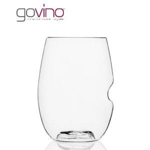 govino (ゴヴィノ) 赤ワイングラス 475ml (1〜2脚迄、ワイン(=750ml)11本と同梱可) (ラッピング不可)|takamura
