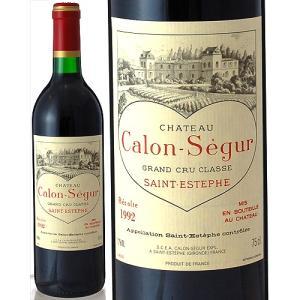 シャトー カロン セギュール[1992](赤ワイン)※裏ラベルに若干の破れ有り|takamura