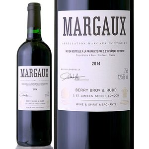 ベリーズ・マルゴー[2014](生産者シャトー・ブラーヌ・カントナック)(赤ワイン)|takamura