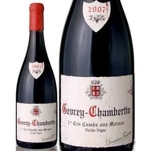 ジュヴレ シャンベルタン プルミエ クリュ  コンブ オー モアンヌ[2007]ドメーヌ フーリエ(赤ワイン)|takamura