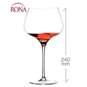 スタイリッシュ ブルゴーニュ720ml(RONA)1脚(ワイングラス・RONAシリーズ)|takamura