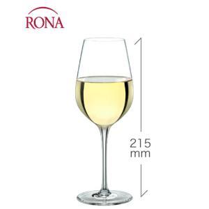 クラッシック 白ワイン340ml(RONA)1脚(ワイングラス RONAシリーズ)|takamura