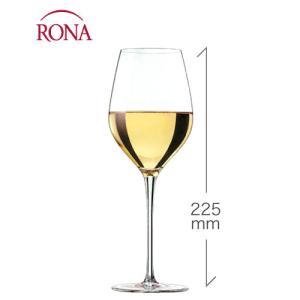 ラグジュアリー 白ワイン360ml(RONA)1脚(ワイングラス RONAシリーズ)|takamura