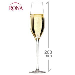 ラグジュアリー シャンパーニュ210ml(RONA)1脚(ワイングラス RONAシリーズ)|takamura