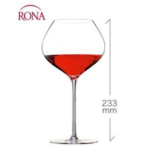ラグジュアリー ブルゴーニュ760ml(RONA)1脚(ワイングラス RONAシリーズ)(1脚につき、ワイン(=750ml)8本と同梱可)|takamura