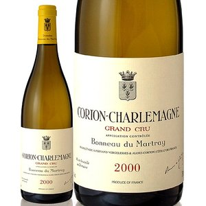 コルトン シャルルマーニュ[2000]ボノーデュマルトレ(白ワイン)|takamura
