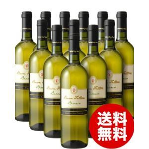 【送料無料&大人買いでさらにお得】ブォン ファットーレ ビアンコNV1ケース12本入り(白ワイン)(同梱不可/代引き手数料 クール便別途)|takamura
