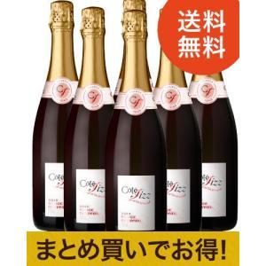 ★【送料無料】乾杯はコレ!人気の赤泡ヌーヴォー[2015]6本セット(赤泡×6本)[N]|takamura