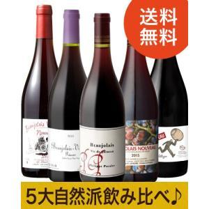 ★【送料無料】これを飲めば自然派が分かる!5大自然派ヌーヴォーセット(赤ワイン×5本)[N]|takamura