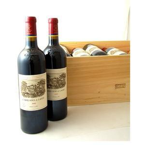 送料無料 オリジナル木箱入り カリュアド ド ラフィット[2008]12本セット※同梱不可(赤ワイン)|takamura