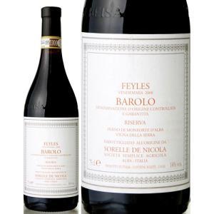 バローロ リゼルヴァ [2008]  ソレッレ デ ニコラ フェイレス ( 赤ワイン ) takamura